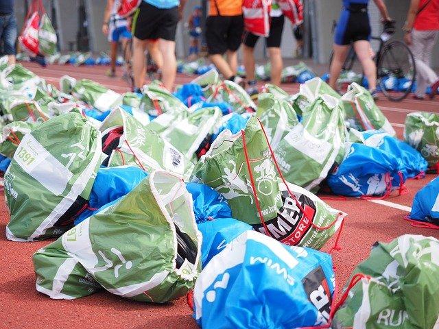 tašky sportovců