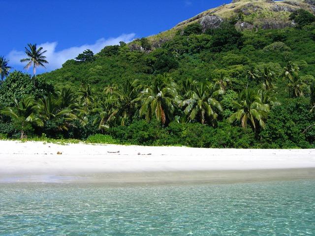 pláž na Fidži