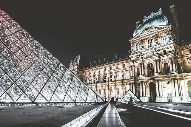 muzeum v Paříži