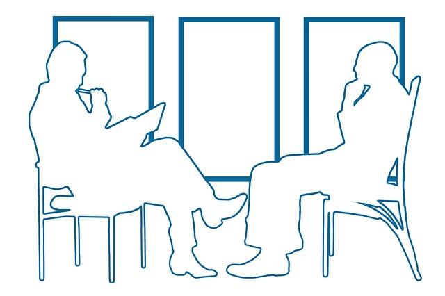 rozhovor mezi dvěma lidmi
