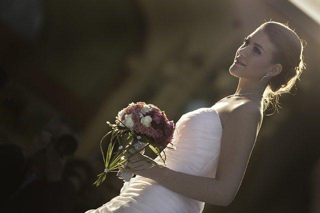 nevěsta v šeru