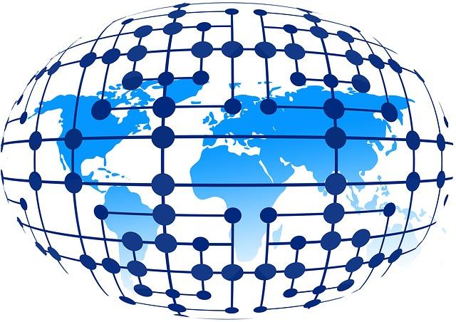 internet na zeměkouli